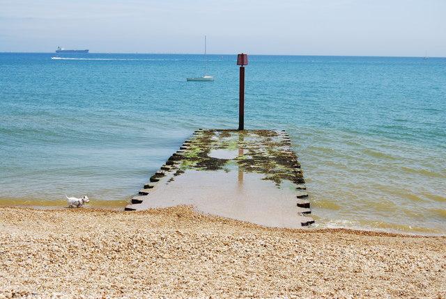 Hazard marker, Preston Beach