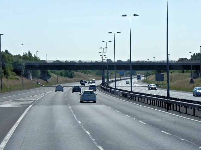 M6 Toll Road, Ogley Hay Road Bridge