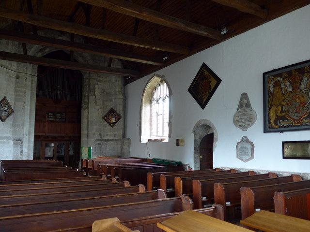 Inside St Mary, Carisbrooke (3)