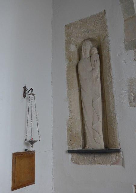 Inside St Mary, Carisbrooke (5)