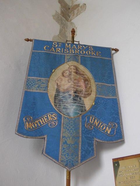 St Mary, Carisbrooke: banner (ii)