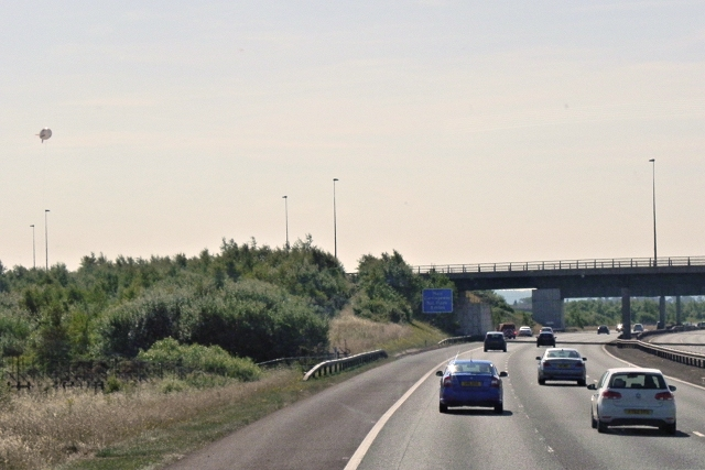A5 Crossing the M6 Toll Road