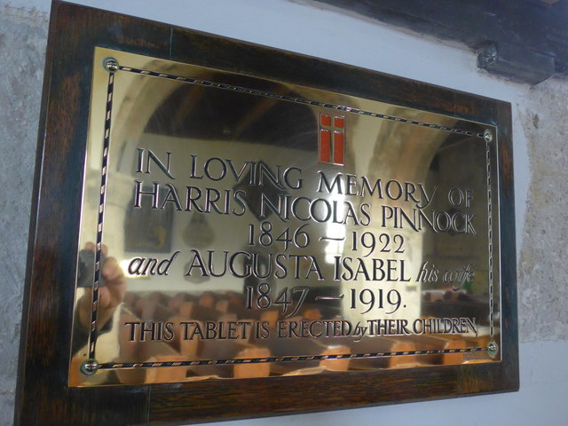 St Mary, Carisbrooke: memorial  (IV)