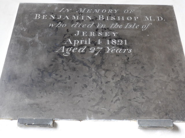 St Mary, Carisbrooke: memorial  (XIII)
