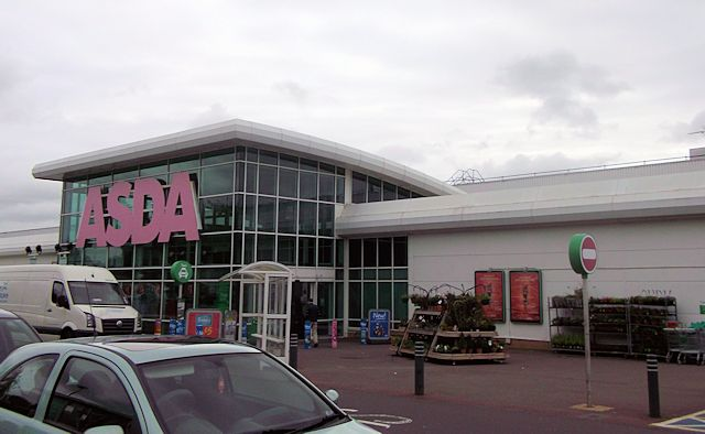 ASDA superstore Chandlers Ford
