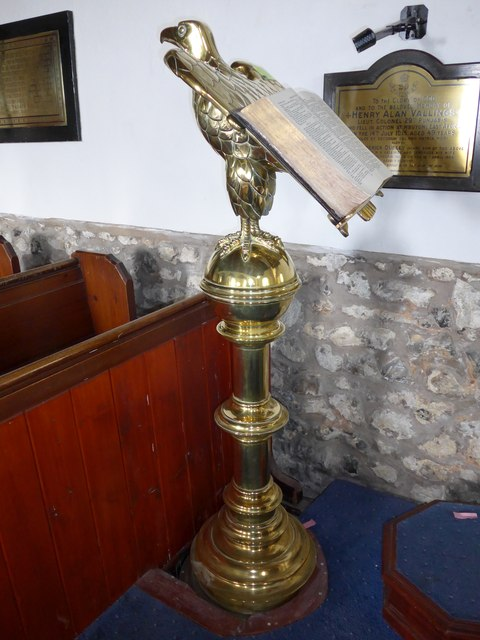 St Mary, Carisbrooke: lectern