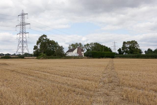 Footpath, Kimberley House and Pylon
