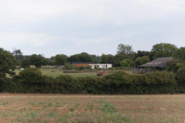 Little Denmead Farm buildings