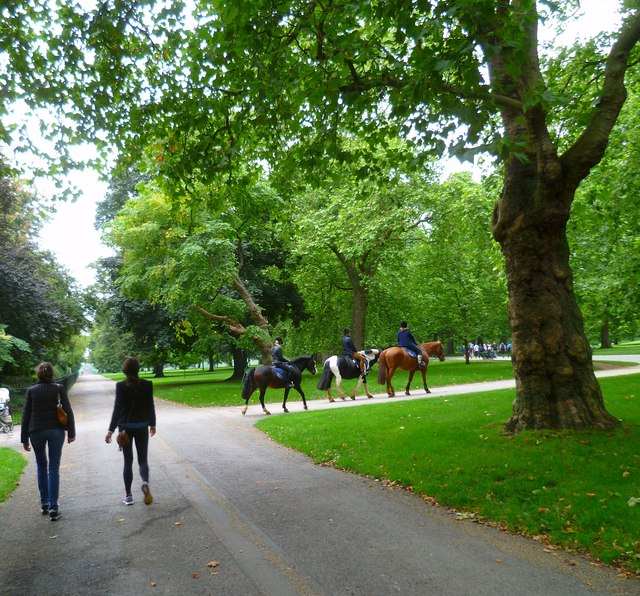 Horseriding in Hyde Park
