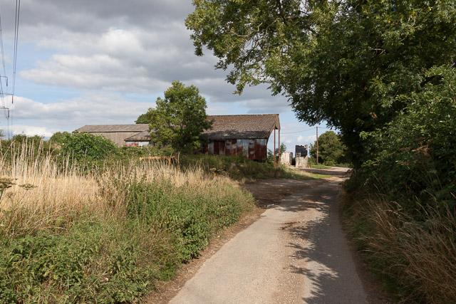 Farm buildings, Hinton Daubnay