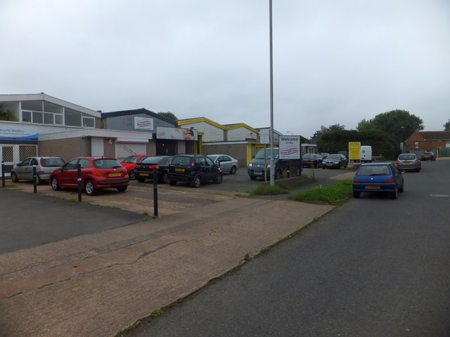 Industrial units, Grace Road West, Exeter