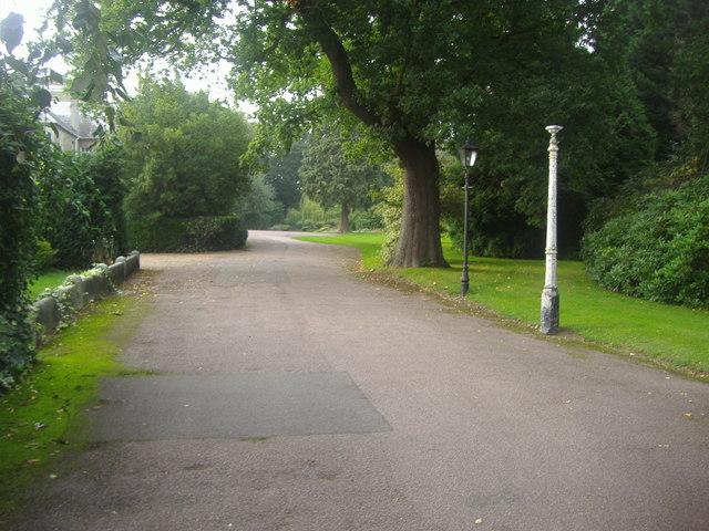 Grounds of Thomas Lipton Memorial Home