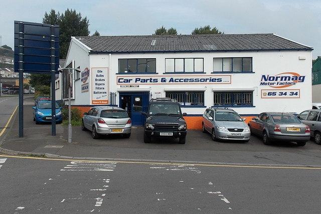 Normag Motor Factors, Swansea