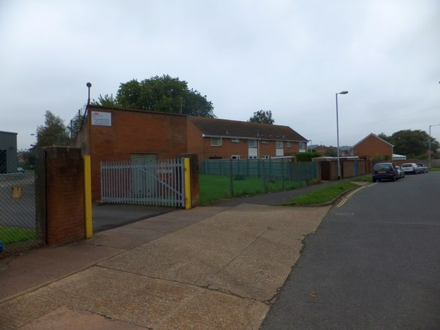 The edge of the trading estate, Grace Road West