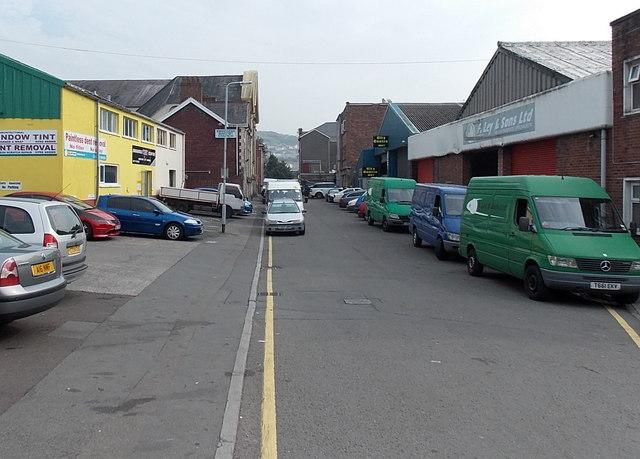 Ebenezer Street, Swansea