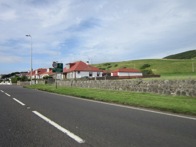 Bungalows on Ardrossan Road, Seamill