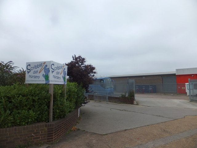 Nursery and coach park, Grace Road West, Exeter