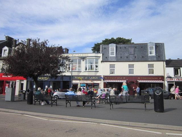 Shops on Main Street, Largs