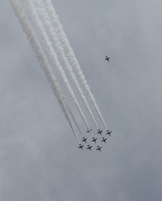 Ten Red Arrows