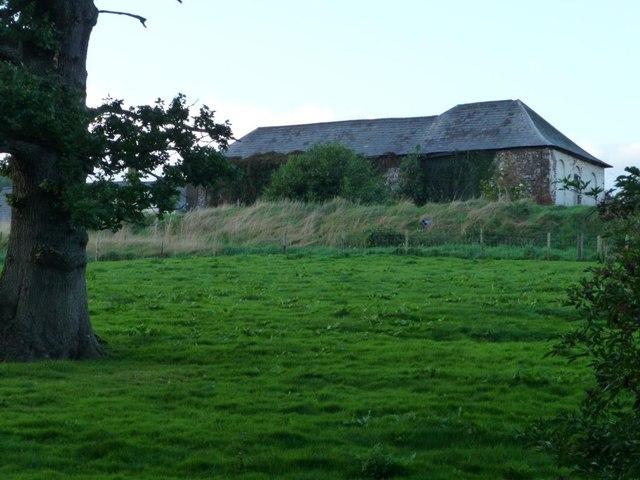 Large building, Ty-poeth Farm