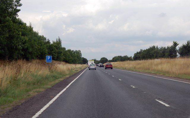 A419,  A Quarter of a mile to parking area
