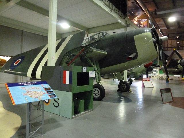 Inside the Fleet Air Arm Museum (28a)