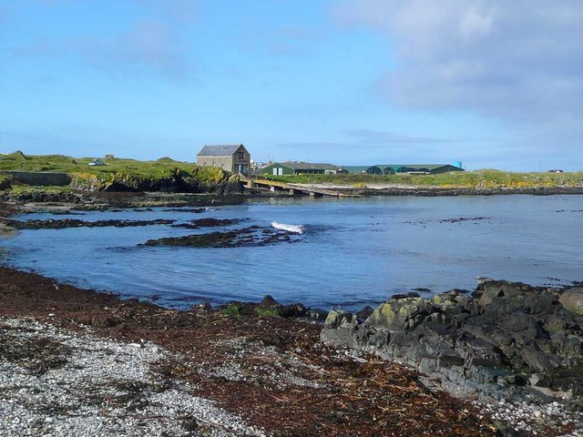 Little bay at the south of Machrihanish Bay