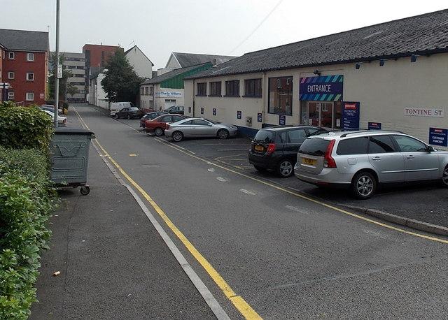 Tontine Street Swansea