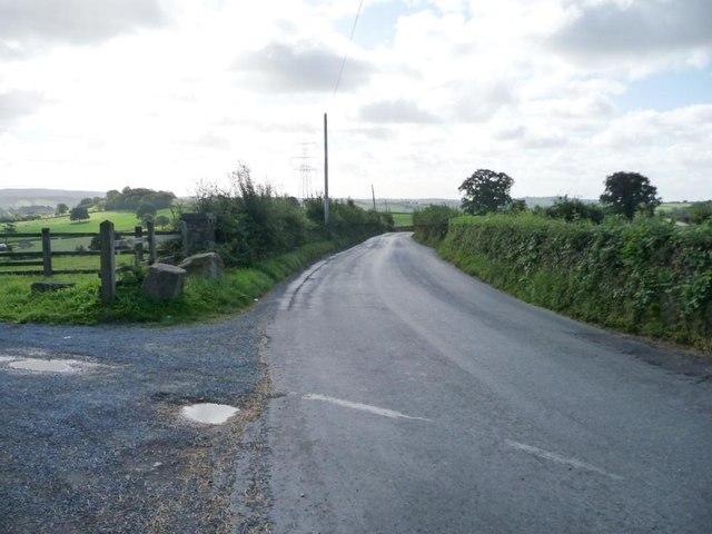 Tre-herbert Road, east of Croeswen