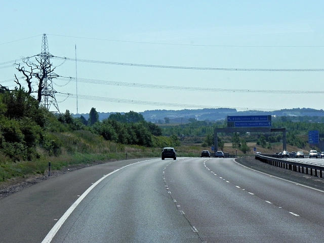 M6 Toll Road Southbound