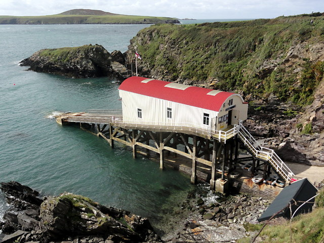 The Lifeboat Station at St Justinian's
