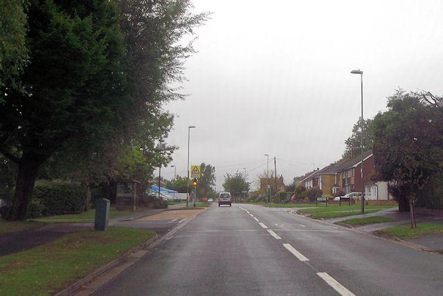 Oakmount Road at Constantine Avenue