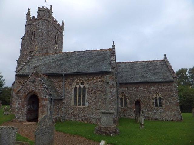 The church at Upton Pyne