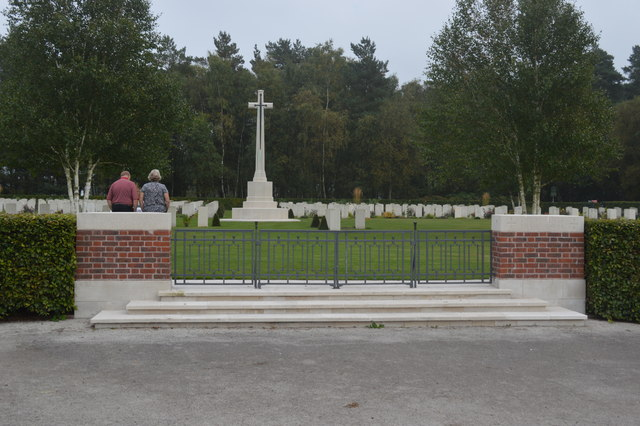 Commonwealth War Cemetery - Cannock Chase