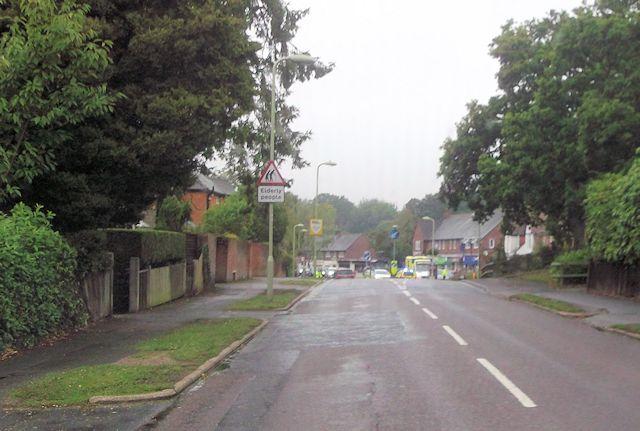 Hiltingbury Road approaching Kingsway