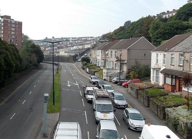 Dyfatty Street, Swansea