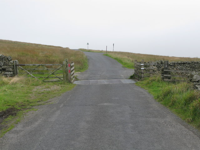 Cattle Grid on Black Gill Lane (Settle to Airton Road)