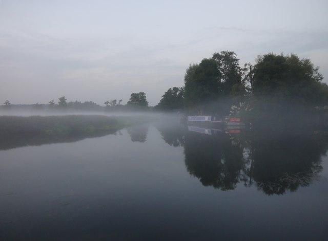 Mist over the Wey