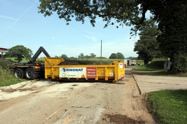 Road Works at Willington