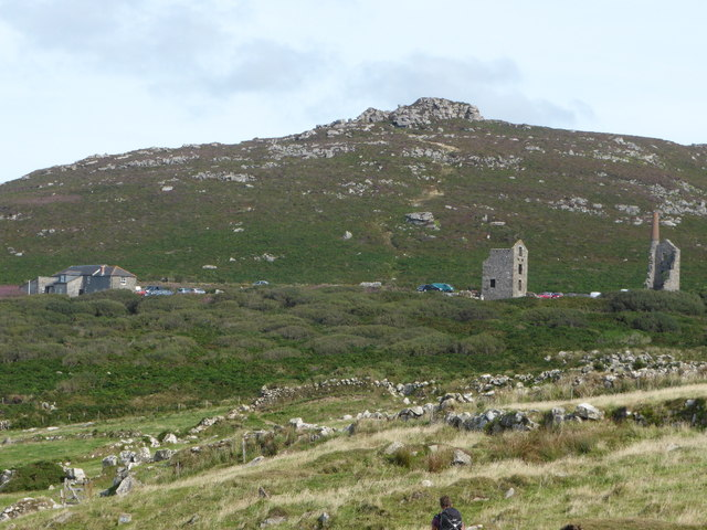 The Count House and Carn Galver mine