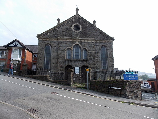 Front view of the United Reformed Church Carmarthen Road, Swansea