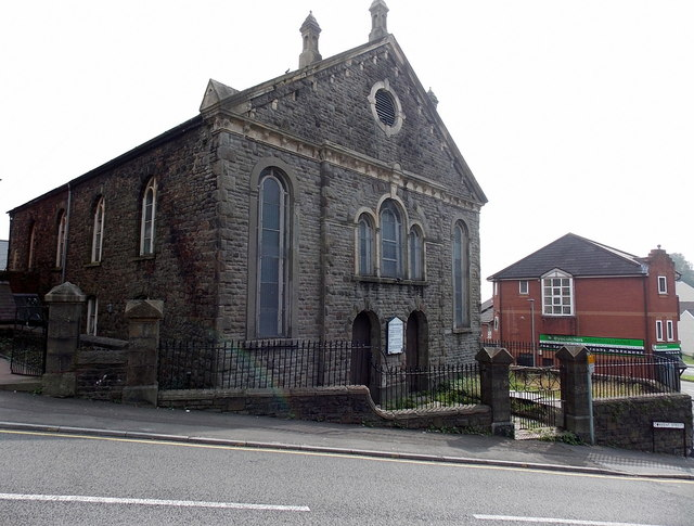 North side of the United Reformed Church Carmarthen Road, Swansea