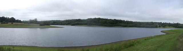 Panorama of Bewl Water Reservoir