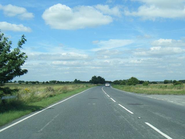 A1031 Crabtree Lane heading north