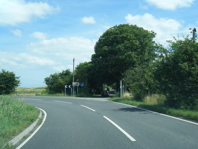 A1031 bend near Rimac