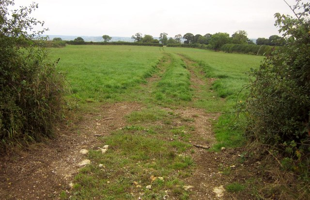 Track near the Monarch's Way