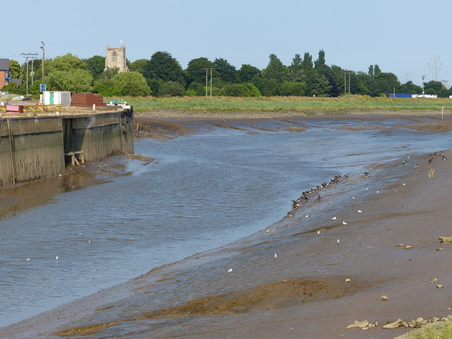 River Witham at the Port of Boston