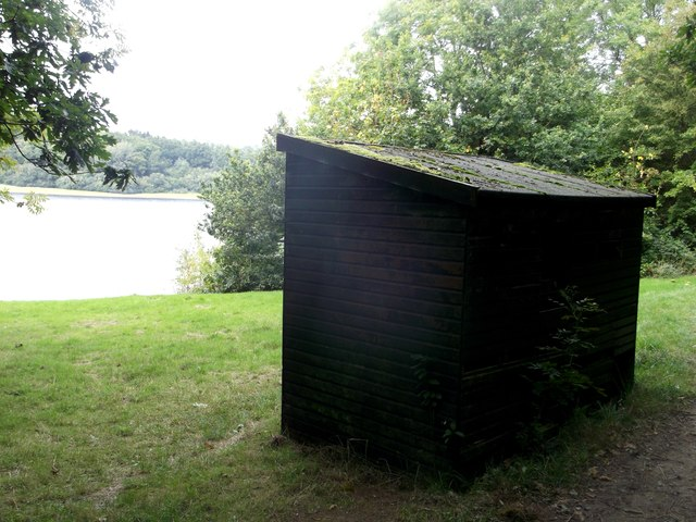 Wood Shelter beside Bewl Water Reservoir