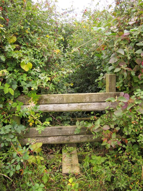 Stile on Monarch's Way