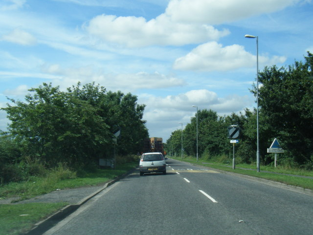 A1031 leaving North Somercotes